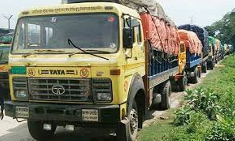 Hundreds of trucks carrying various goods stranded in Benapole