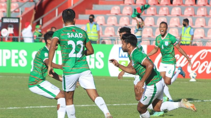 SAFF: Bangladesh misses final berth after controversial penalty goal during Nepal fixture
