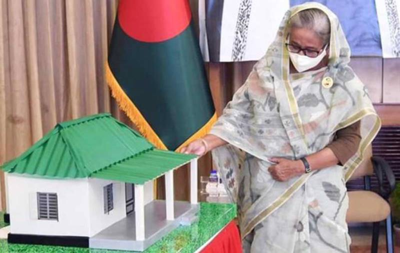 Another 53,000 homeless families will receive PM Hasina's gift house in June