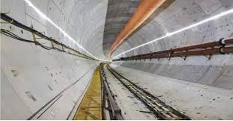 The Karnafuli tunnel will be ready for traffic by next year