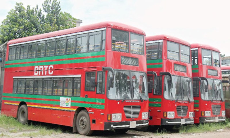 BRTC to use 60 double-decker buses to solve public transport crisis