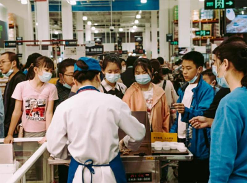 China: Urban unemployment rate swells in July