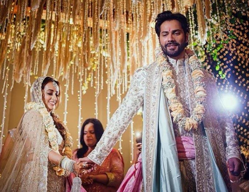 Varun Dhawan, Natasha Dalal tie nuptial knot