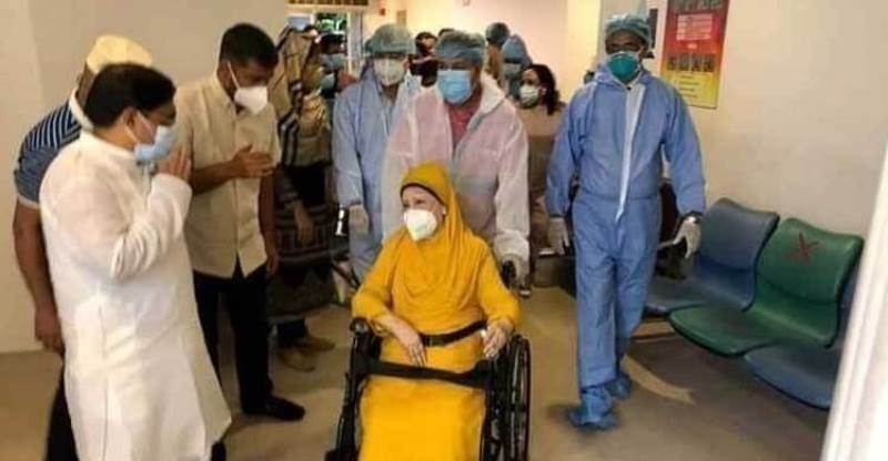Khaleda Zia in CCU