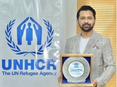Bangladesh singer Tahshan Khan appointed UNHCR goodwill ambassador