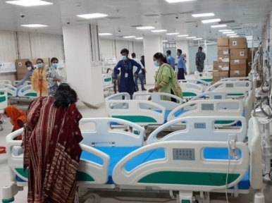DNCC dedicated Covid-19 hospital sees 18 ICU patients on the first day