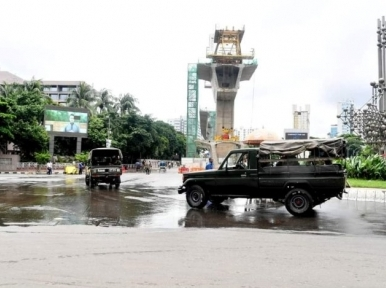 Dhaka: 403 people arrested on the first day of hard lockdown
