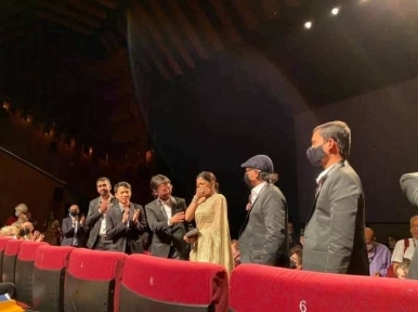 Badhon Haque moved to tears as Rehana Maryam Noor gets standing ovation at Cannes screening