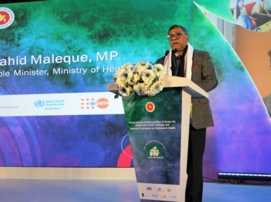Coronavirus in 'phase out' stage: Zahid Maleque