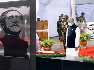 President and the Prime Minister pay tribute on Bangabandhu's birthday