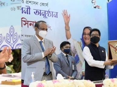 Field administration is the main driving force in changing destiny of people: Prime Minister Hasina