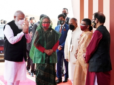 Indian PM Modi to visit Hindu temple, meet PM Hasina on day 2 of Bangladesh trip