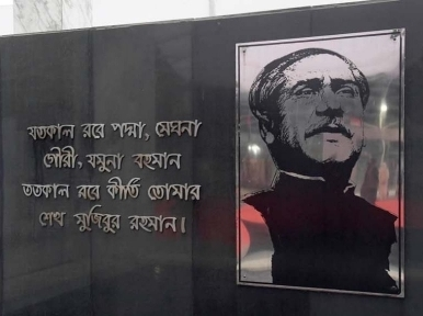 Bangladesh celebrating birth centenary of the father of the nation