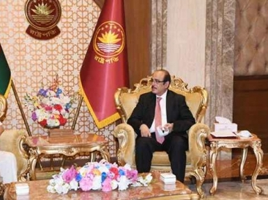 Corrupt people should be punished: President Hamid to ACC