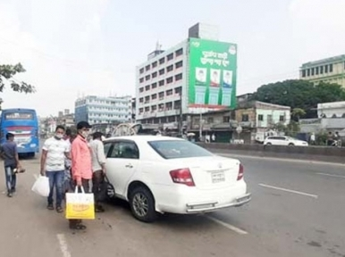 People of the south are still leaving Dhaka on the occasion of Eid