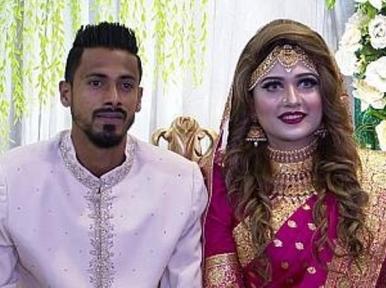 Footballer Sohel Rana marries fan turned girlfriend of six years