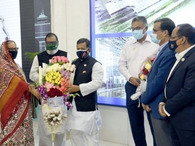 Prime Minister Sheikh Hasina returns to country after 14-day US trip