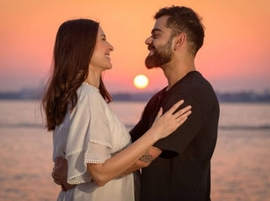 My valentine every day forever and beyond: Anushka Sharma wishes hubby Virat Kohli