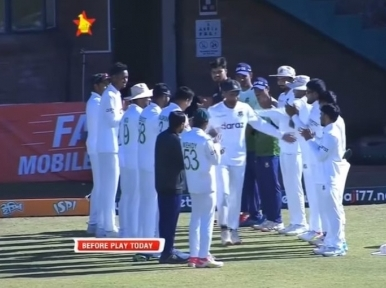 Mahmudullah announces retirement, gets guard of honour from teammates