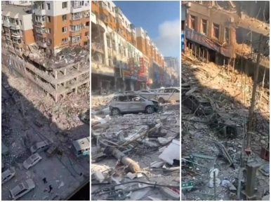 At least 3 killed, dozens injured in massive gas explosion in northeast China
