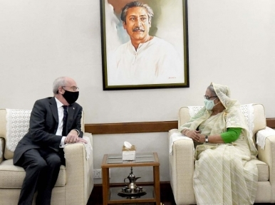 Rohingya population and stranded Pakistanis are Bangladesh's burden: PM Hasina