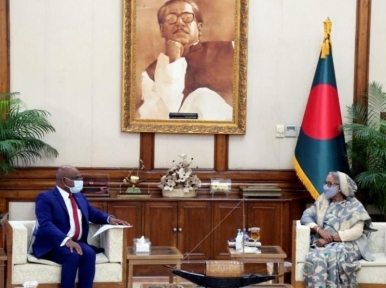 PM Hasina assures Maldives of all cooperation in tackling climate change