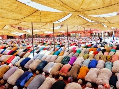 Country celebrating holy Eid-ul-Azha today