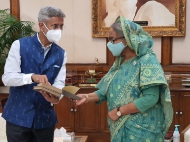 Neighbouring countries' problems should be resolved through dialogue and compromise: PM Hasina