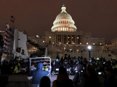 Security beefed up outside US Capitol ahead of Saturday's rally supporting Jan 6 rioters