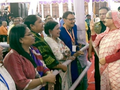 Bangladesh is a safe haven for all, irrespective of religion or caste: Prime Minister Hasina