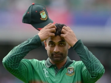 Bangladesh cricketer Tamim fined for breaching ICC Code of Conduct
