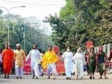 Bangladesh belongs to all religions, says Home Minister