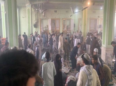 At least 32 dead, dozens injured in Shiite mosque blast in Afghanistan's Kandahar