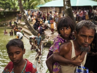 Rohingya: Myanmar's military government promises to take back 'displaced' refugees from Bangladesh