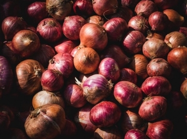 8,100 metric tons of onions imported from Myanmar