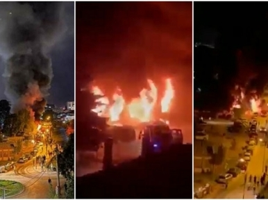 14 patients killed, several hurt in Covid hospital fire in North Macedonia