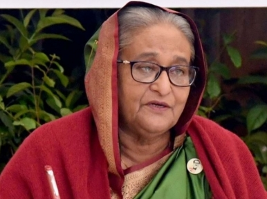 Happy journey on development highway only if we win against hunger and poverty: PM Hasina