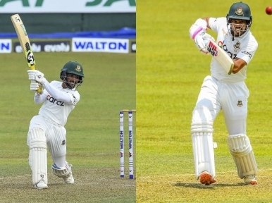 Bangladesh take lead on first day of Kandy Test match
