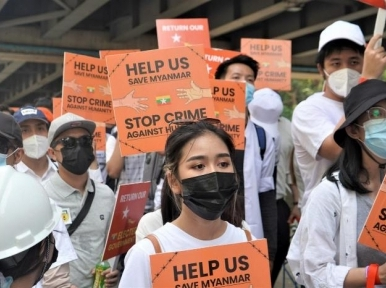 'Urgent' international response needed in Myanmar: UN chief