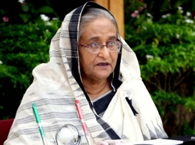 Use masks, wash hands frequently even after vaccination: PM Hasina