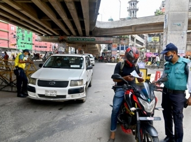 DMP arrests 566 people in Dhaka on the fourth day of the ongoing hard lockdown