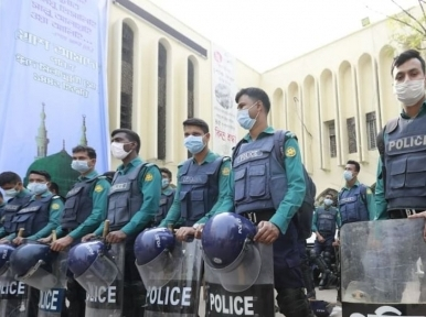 Hefazat withdraws from protest as police bolster security at Baitul Mukarram