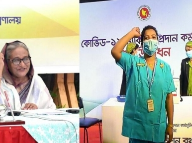 Will take the vaccine after everyone has taken it: Sheikh Hasina