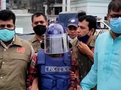 Marquee Attack: Arrested Iqbal Hossain kept in Comilla Police Lines