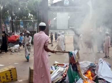 Brahmanbaria violence aimed at taking Bangladesh backwards