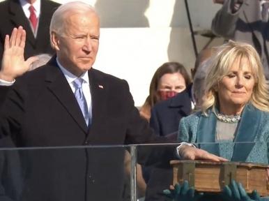 This is America's day: Joe Biden