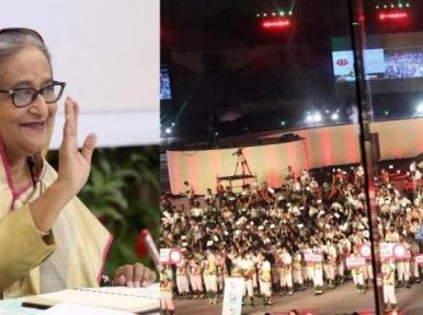 Ninth Bangladesh Games inaugurated by PM Hasina