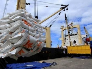 Bangladesh to import 1.5 lakh metric tons of rice from India
