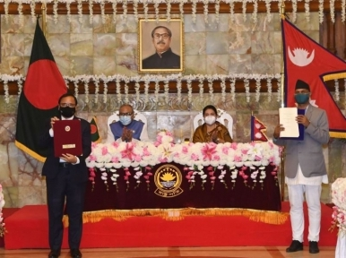 Bangladesh, Nepal sign four MoUs