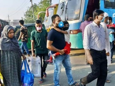 Nearly 1.05 crore SIM users have left Dhaka ahead of Eid, eight lakh have returned